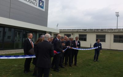 Inauguration Zodiac Aero Duct