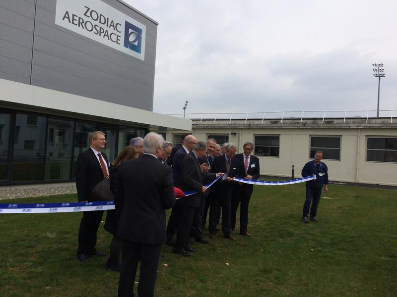 Inauguration de Zodiac Aero Duct