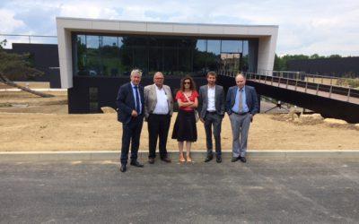 Inauguration Site AMADA à Charleville Mézières
