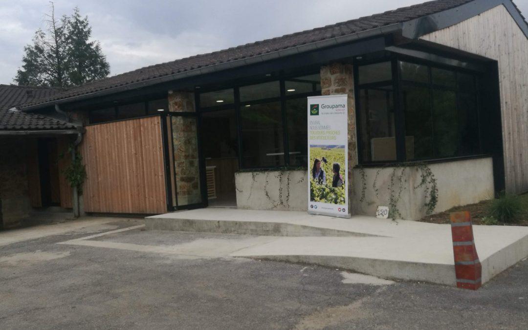 Projet | Inauguration du nouveau cellier/espace de vente et dégustation du lycée viticole de Crézancy (02)