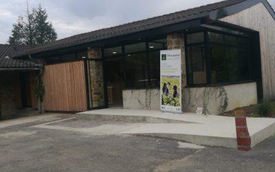 Inauguration du nouveau cellier/espace de vente et dégustation du lycée viticole de Crézancy (02)