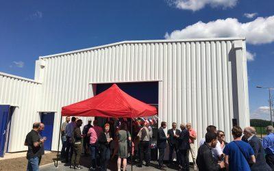 Inauguration du SIVOM – La Varennes Jarcy (91)