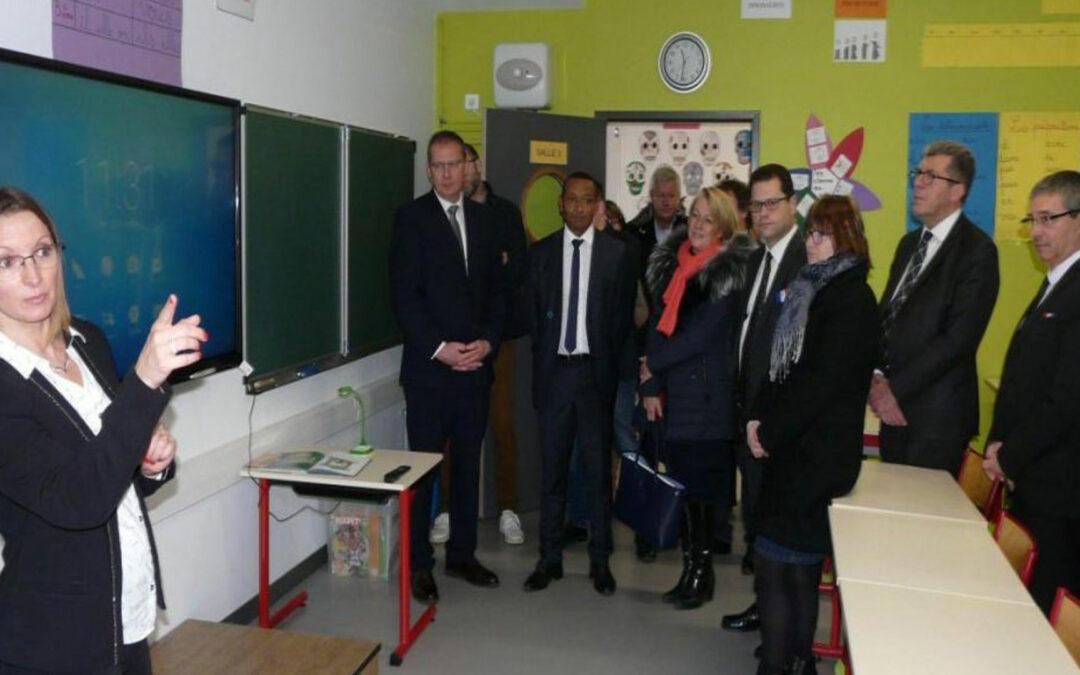Vu dans la presse | Inauguration de l'école Prévert – Villeneuve-sur-Aisne (02)