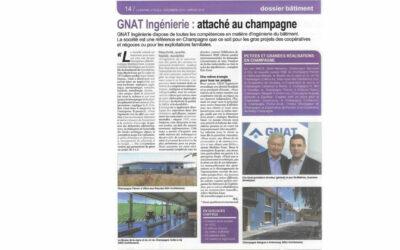 Vu dans la presse | GNAT Ingénierie : attaché au champagne